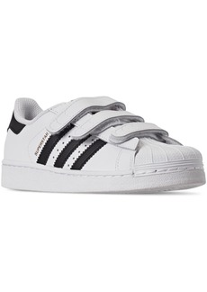 adidas Little Boys' Originals Superstar Casual Sneakers from Finish Line
