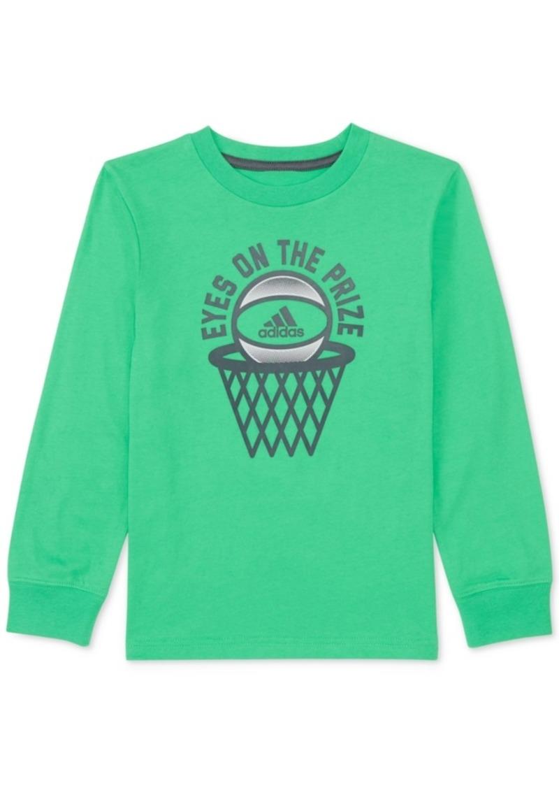 adidas Toddler Boys Prize-Print Cotton T-Shirt