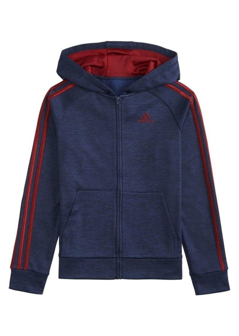 Adidas Little Boy's Raglan-Sleeve Fleece Jacket