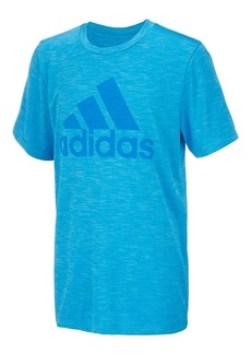 Adidas Little Boy's Short-Sleeve Climalite Graphic Tee