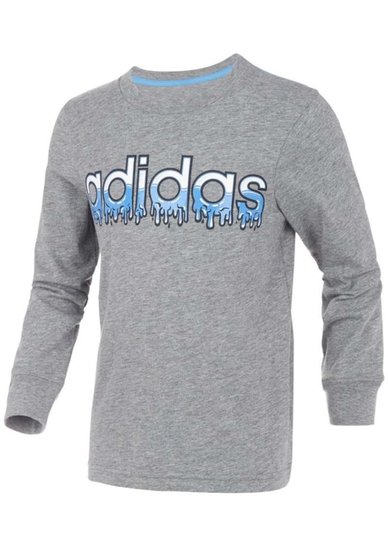 adidas Little Boys Slime Logo T-Shirt