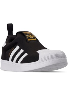 adidas Little Boys' Originals Superstar 360 Slip-On Casual Sneakers from Finish Line