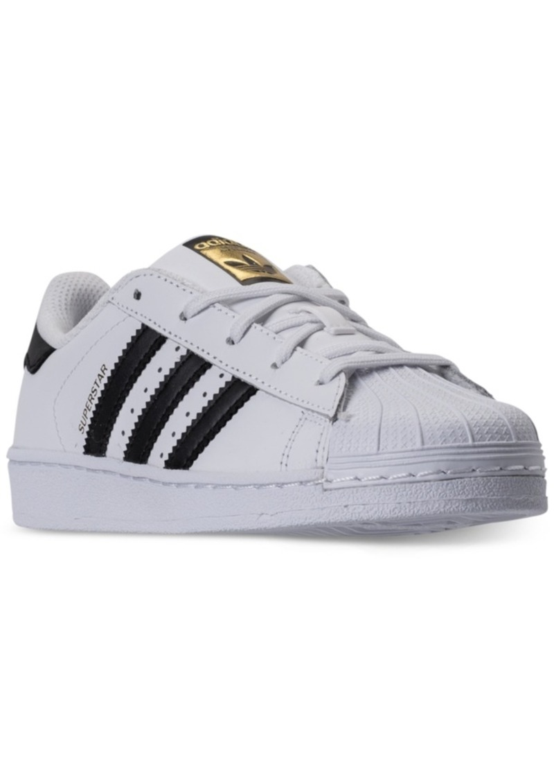 adidas Little Boys' Originals Superstar Sneakers from Finish Line