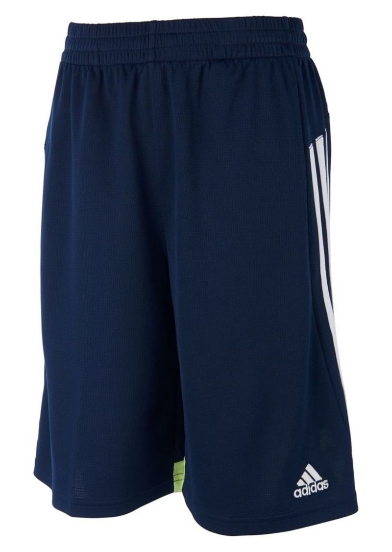 Adidas Little Boy's Three-Striped Shorts