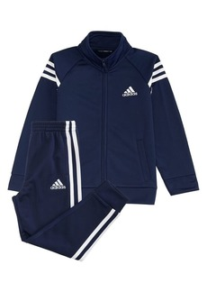 Adidas Little Boy's Two-Piece Event Tricot Jacket & Jogger Pants Set