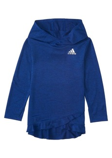 Adidas Little Girl's & Girl's Climalite Space Dye Mélange Hoodie