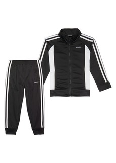 Adidas Little Girl's 2-Piece Zip-Front Event Tricot Jacket & Joggers Set