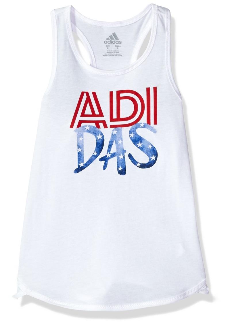 adidas Girls' Little Active Tank Tops  6X