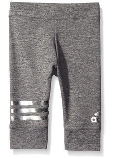 adidas Little Girls' Active Workout Pant  6X