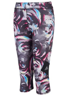 adidas Toddler Girls Alpha Printed Capri Leggings