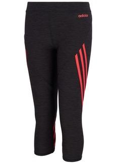 adidas Little Girls Climalite Core Stripe 7/8 Tights