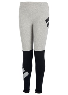 adidas Toddler Girls Colorblocked Logo Leggings