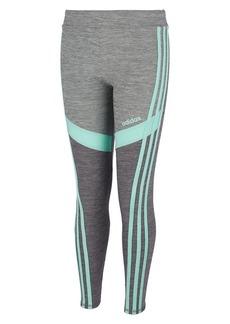 Adidas Little Girl's D2M Melange Tights