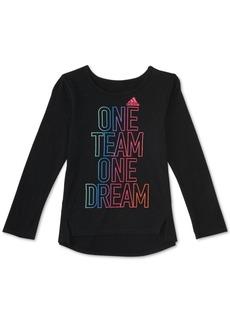 adidas Little Girls Dream Team T-Shirt