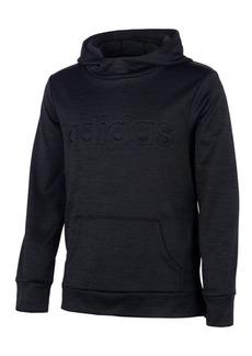 adidas Little Girls Embossed-Logo Hoodie