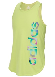 adidas Little Girls Graphic-Print Tank Top