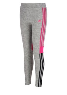 Adidas Little Girl's Heathered Leggings