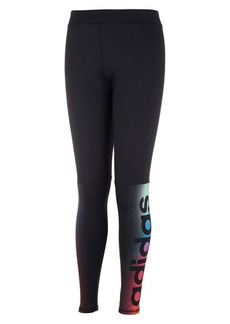 Adidas Little Girl's Linear Fade Tights