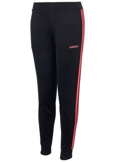 adidas Little Girls Linear Tricot Jogger Pants