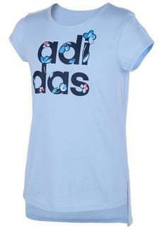 b6296b5163bd adidas Toddler Girls Logo-Print T-Shirt