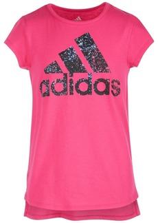 adidas Toddler Girls Logo-Print T-Shirt