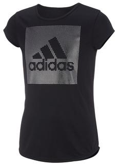 adidas Little Girls Logo-Print T-Shirt