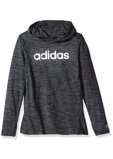 Adidas Little Girls' Performance Hoodie  6X