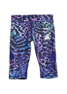 Adidas Little Girl's Printed Capri Pants