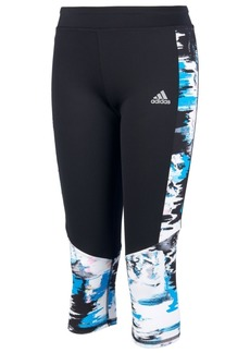 adidas Little Girls Run Climalite Capri Tights