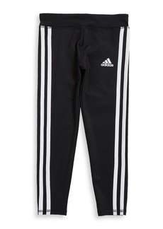 Adidas Little Girl's Striped Leggings