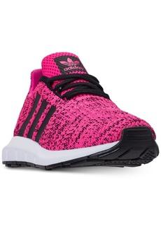 adidas Little Girls' Swift Run Running Sneakers from Finish Line