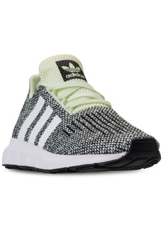 adidas Little Girls' Swift Run Running Sneakers from Finish Line
