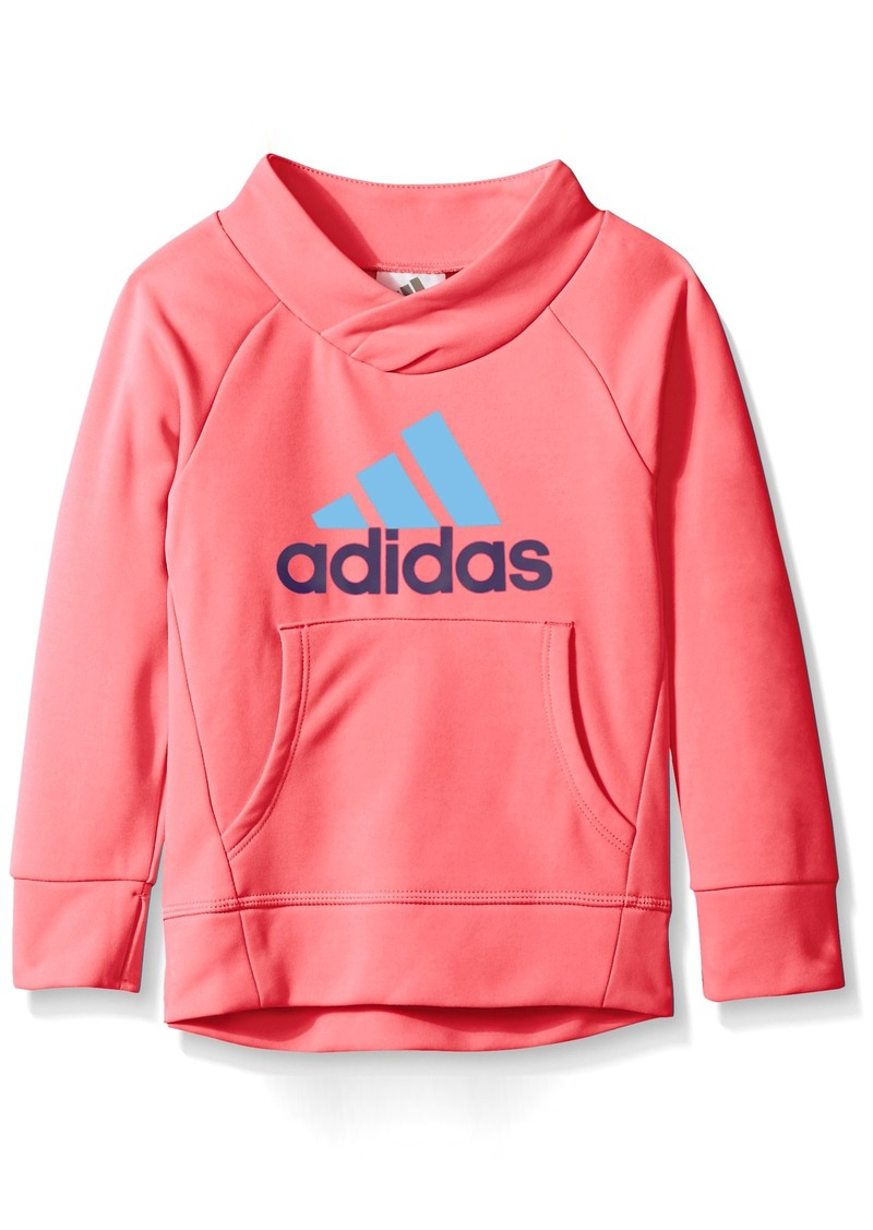 adidas adidas little girls 39 toddler performance pullover. Black Bedroom Furniture Sets. Home Design Ideas