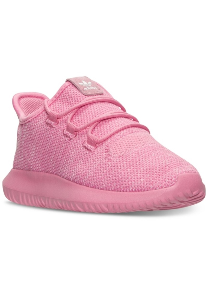 best loved 58358 abdec adidas Little Girls  Tubular Shadow Knit Casual Sneakers from Finish Line