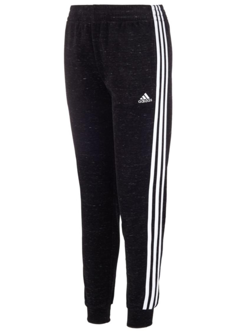 adidas Little Girls Velour Jogger Pants