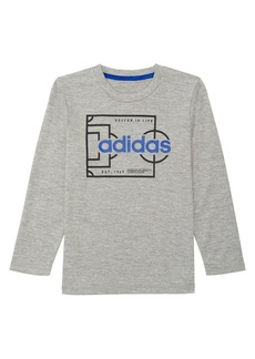 Adidas Littte Boy's Long-Sleeve Climalite® Field Graphic Tee
