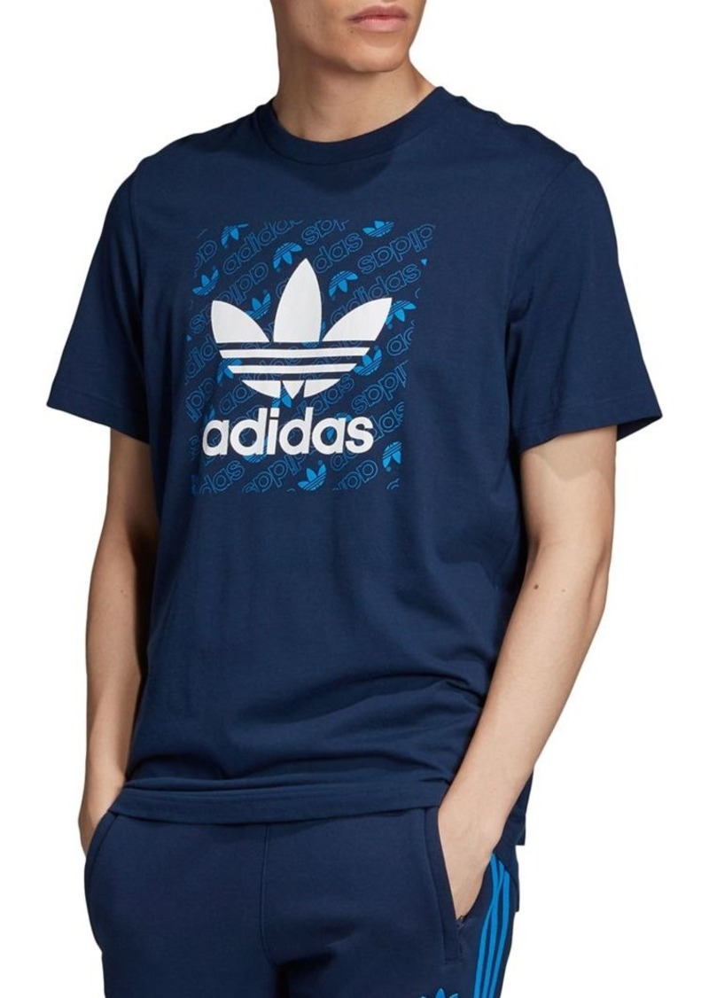 Adidas Originals Monogram Square Logo Tee