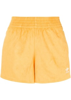 Adidas logo elasticated shorts