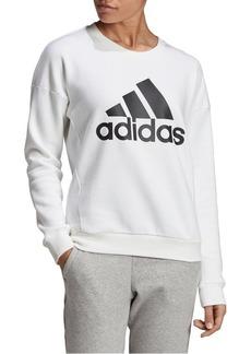 Adidas Logo Fleece Sweatshirt