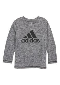 adidas Logo Graphic Climalite® T-Shirt (Toddler Boys & Little Boys)