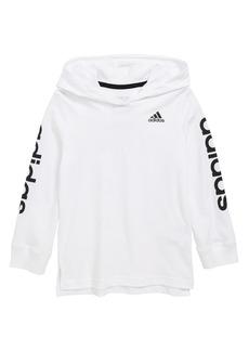 adidas Logo Hooded T-Shirt (Toddler Boys & Little Boys)