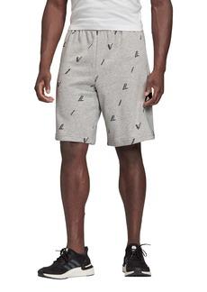 adidas Logo Knit Athletic Shorts