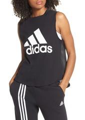 adidas Logo Mesh & Jersey Tank