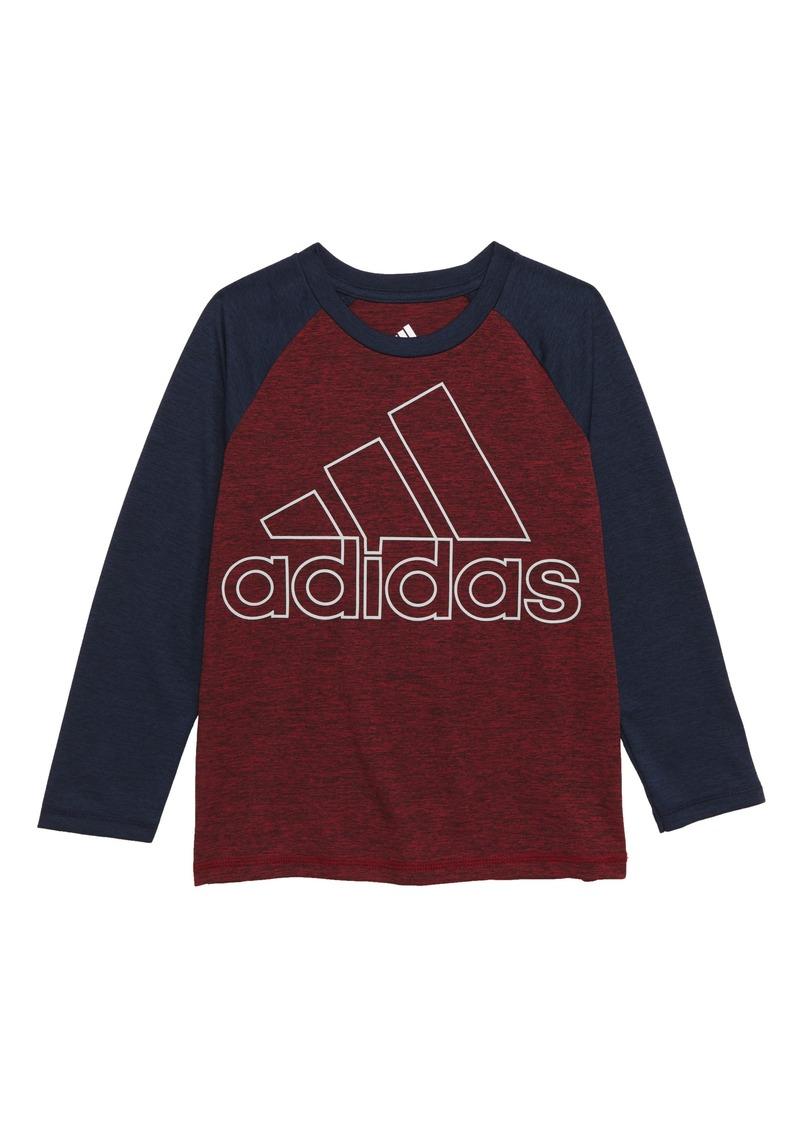 adidas Logo Performance Climalite® T-Shirt (Toddler Boys & Little Boys)