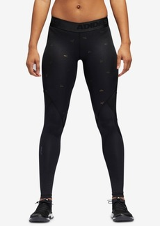 adidas Logo-Print Compression Leggings
