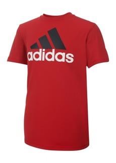 adidas Logo Print T-Shirt, Big Boys