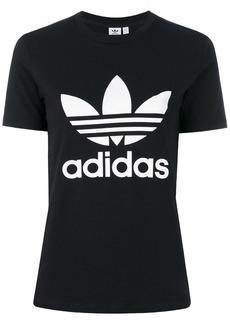 Adidas Originals Trefoil print T-shirt