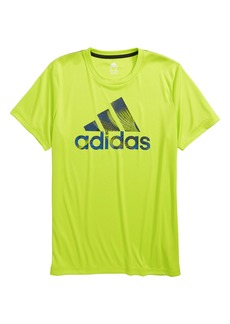 adidas Logo T-Shirt (Big Boys)