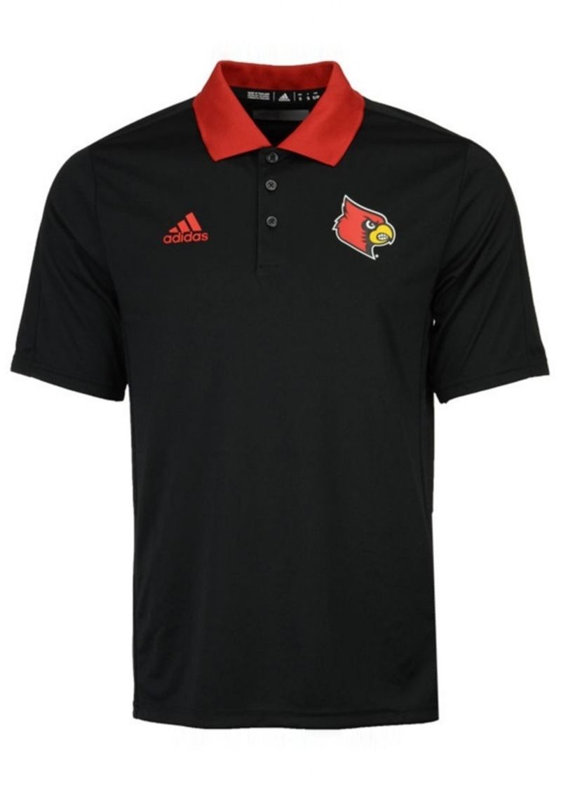 adidas Louisville Cardinals 2017 Ncaa Men's Coaches Polo