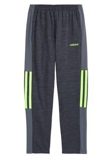 adidas Melane Mesh Stripe Knit Track Pants (Toddler & Little Boy)
